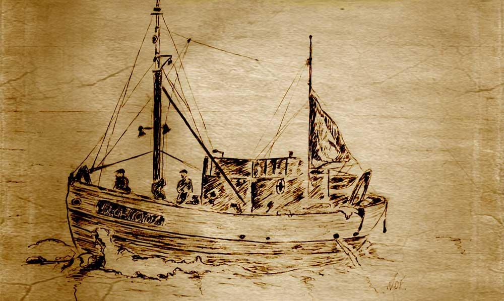 Dessins du Notre Dame des Flots