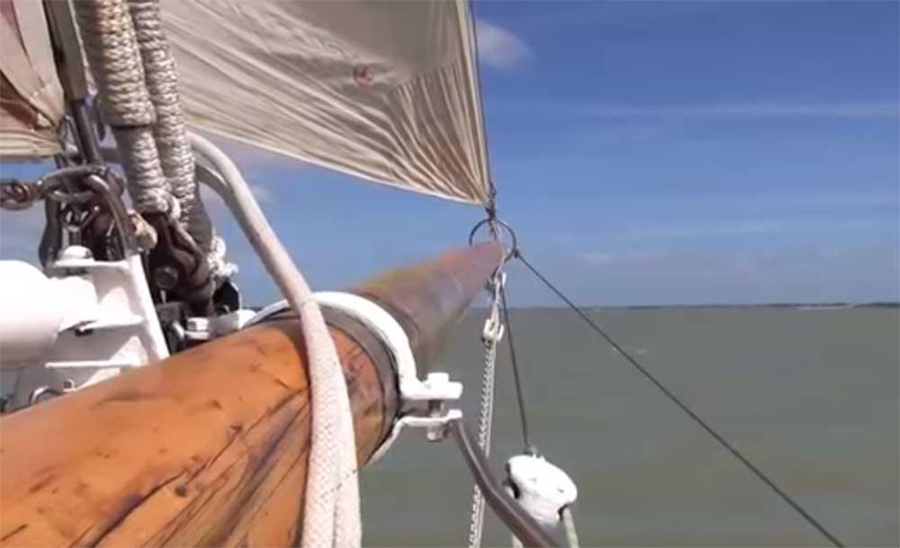 Remontée de la Charente sur Notre Dame des Flots
